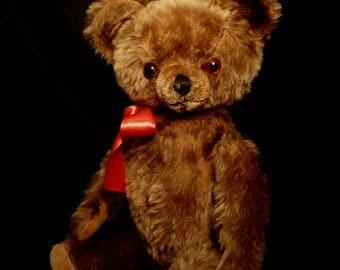 Vintage American knickerbocker Mohair Bear 1940s