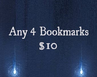 Pick Any 4 Prism Bookmarks / Print Deal Sale