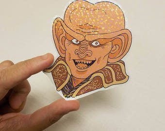 Vinyl Sticker - DS9 Quark