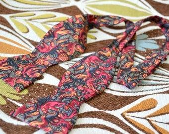 1990s M.C. Escher Silk Printed Bow Tie