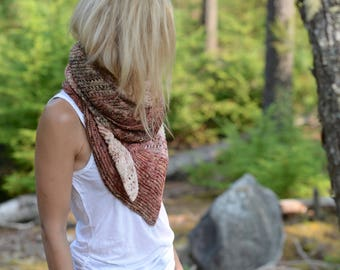 KNITTING PATTERN-Wander Forever Shawl (One size)