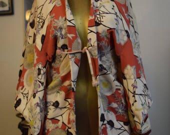 Authentic Vintage Japanese Haori Kimono