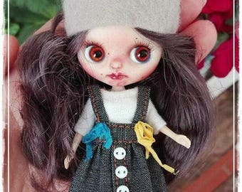 MOUSIE  Petite Blythe custom doll by Antique Shop Dolls