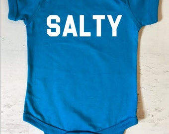 Salty Baby Bodysuit for Foodies