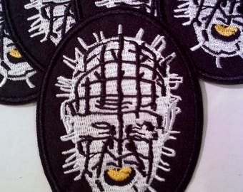 Hellraiser Pinhead Iron on/Sew On Patch