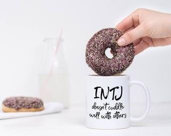 INTJ Personality Gift | Coffee Mug | Gift for Coffee Lover