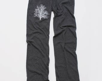 shadow Tree Yoga Pants, Lounge Pants, Pajama Pants, XS,S,M,L