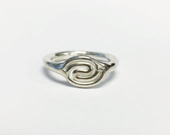 Coil Ring - Sterling Silver