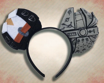Space Smuggler Mouse Ear Headband