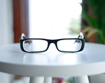 Gianni VERSACE Eyeglasses - MOD 3012 GB1 - black, elegant - Vintage Glasses Frames, designer eyewear, Womens, Mens Eyeglasses, made in Italy