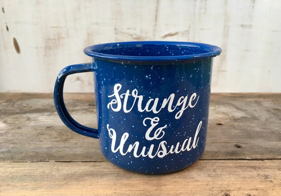 Enamel Mug | Beetlejuice | Strange and Unusual | Mug | Personalized Mug | Camping Mug