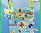 Disney Pixar Small Crossbody Bag Buzz Lightyear with Felt Alien Dangle