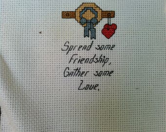 Cross Stitch Home Sampler