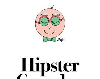 Hipster Grandpa/Grandma