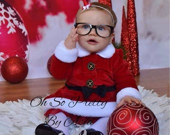 Mini Christmas Party Hat - Headband or Hair Clip - Santa Claus - Red and White Small Hat - Newborn Baby Infant Child Teenager Adult
