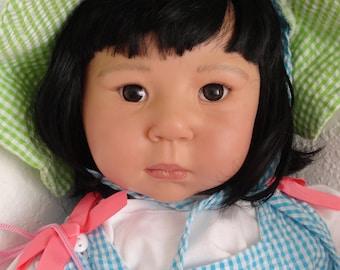 """Reborn 27"""" Asian Toddler Girl Doll """"Mei-Ling"""""""