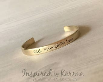 Pre-Order for West Point, USMA 2021 Class Motto Bracelet, Proud West Point Mom, Personalized Cuff Bracelet, Military Jewelry, Personalized