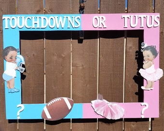 Gender Reveal Frames Etsy
