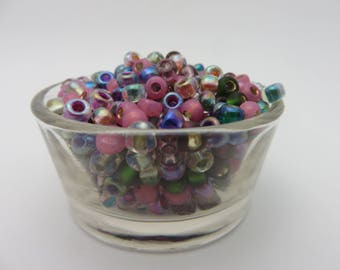 New! MIYUKI Mix 6/0 Seed Beads HEATHER MIX  ( 320 - 340 Beads,   1 Full Ounce !  )  Always Low Shipping !!!