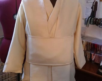MADE to ORDER Star Wars Obi Wan Kenobi short jedi jacket replica