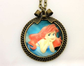 Necklace Ariel the little mermaid 2 2525C