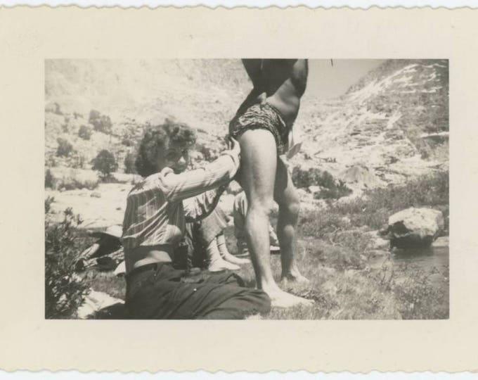 Vintage Snapshot Photo: Butt.... (77591)