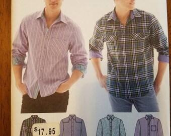 Simplicity 1544: Men's Shirt