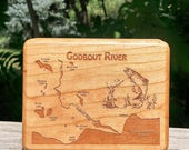 GODBOUT RIVER Map Fly Box...