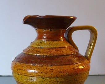 Vintage Made in Italy Bitossi Pitcher