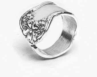 """Spoon Ring: """"Molly"""" by Silver Spoon Jewelry"""
