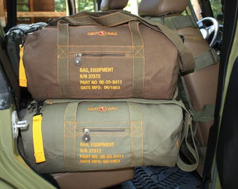 "NEW! Canvas Duffle ""Geo~Bag"""