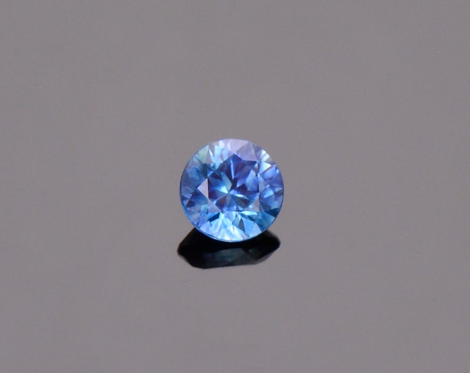 SALE EVENT! Blue Sapphire Gemstone from Montana, Round, 0.50 cts., 4.6 mm.