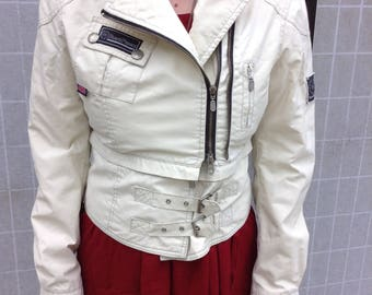 Belstaff White Moto Jacket, The Expanse Costume