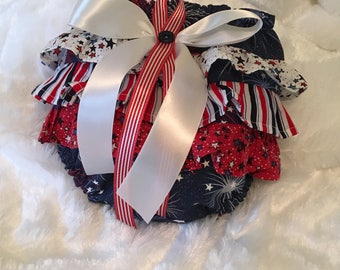 Little Miss Firecracker 2 Ruffle Bottom Diaper Cover