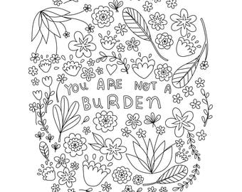 You Are Not a Burden - Digital Download