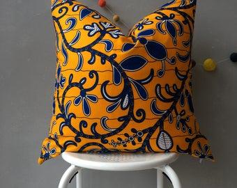 "African Pillow Cover, 20"" x 20"" pillow, home decor, decorative Pillow, Couch Pillow, Throw Pillow, homewares, scatter cushion, cushion cover"