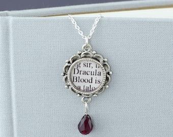 Bram Stoker's Dracula - Vampire Necklace - Halloween - Gothic Necklace / Vampire Jewelry / Vampire Costume / Halloween Wedding