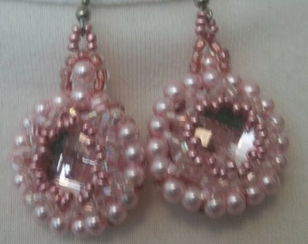 Pink, pink, pink earrings!