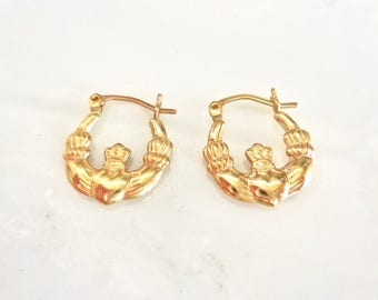 Gold Hoops, Versatile, Elegant, Light, 14 karat gold