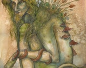 Troll  - fairy art print