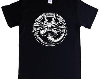 ALIEN FACEHUGGER T-shirt S - 5XL  - aliens movies - Screen printed not transfer