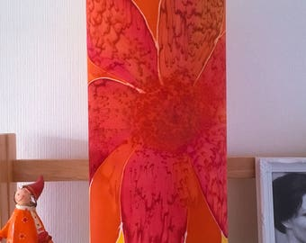 Unique hand painted Table Lamp....One of a kind