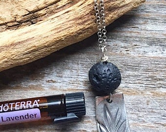 Aromatherapy Pendant / Fine Silver Pendant