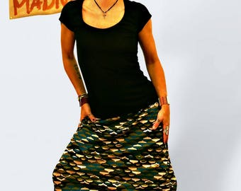 Jersey harem pants, casual pants, colored pants, grafic pants, loose bottom, short harem pants, sarouel, wide trousers, kneelength pants