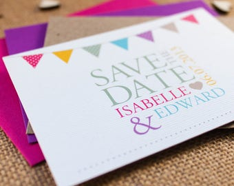 KATE // Wedding Stationery // Save the Date