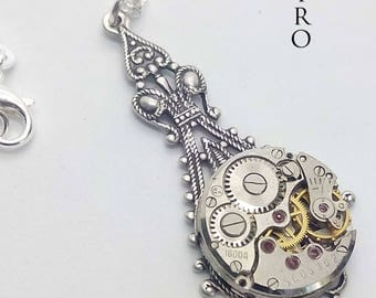 Steampunk Victorian penny dreadful Necklace - Steampunk Jewelry- Christmas gift - steampunk - steampunk necklace - gothic necklace - jewelry