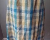 Vintage Wool Skirt by Hay...
