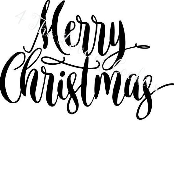 This is a photo of Influential Merry Christmas Stencil Free Printable