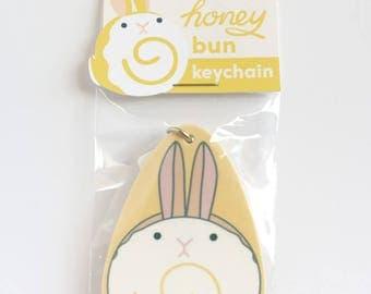 Honey Bun Keychain