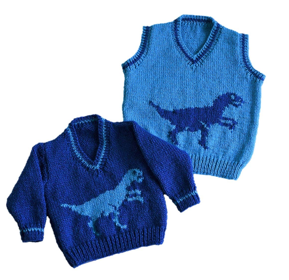 Knitting pattern for boys and girls dinosaur v neck tops pdf knitting pattern for boys and girls dinosaur v neck tops pdf instant download dinosaur sweater childrens double knitting jumper pattern bankloansurffo Image collections